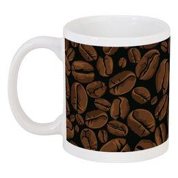 """Кружка """"Кофейная"""" - арт, стиль, рисунок, кофе, зерно"""