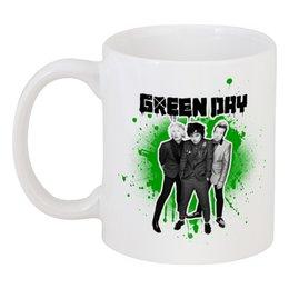 "Кружка ""Green Day"" - рок, панк, группы, green day, грин дэй"
