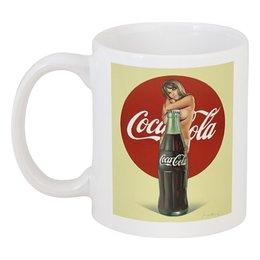 """Кружка """"Coca Cola"""" - ретро, реклама, пинап, кока кола, cjca cola"""