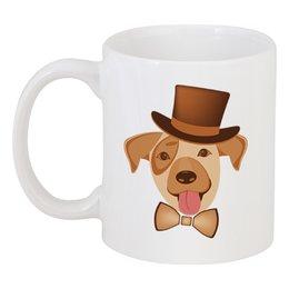 """Кружка """"Щенок по кличке Арчи."""" - dog, собака, друг, домашнее животное, песик"""