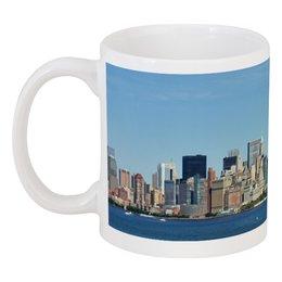 """Кружка """"Нью-Йорк"""" - арт, нью-йорк, страны, город, статуя свободы"""