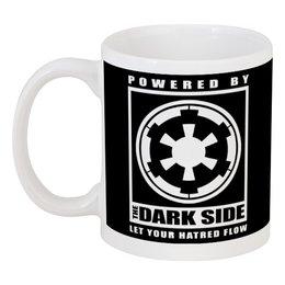 """Кружка """"Темная Сторона (Звездные Войны)"""" - dark side, темная сторона"""
