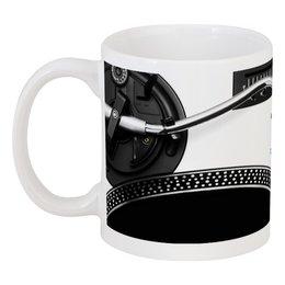 """Кружка """"Диджей """" - подарок для музыканта, клуб, дискотека, вечеринка, кофе"""