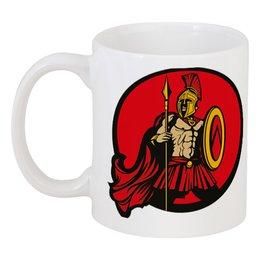 """Кружка """"Спартанец"""" - спартанец, spartan, воин спарты"""