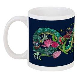 """Кружка """"Дракон арт"""" - арт, дракон, dragon, драконы, арт дизайн"""