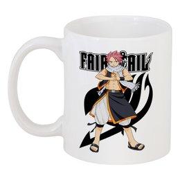 """Кружка """"Fairy Tail. Нацу"""" - аниме, манга, fairy tail, хвост феи, нацу"""