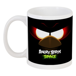 "Кружка ""Space (Angry Birds)"" - игры, space, мультфильм, птица, angry birds"