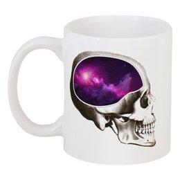 """Кружка """"Вселенная"""" - череп, арт, космос, вселенная"""