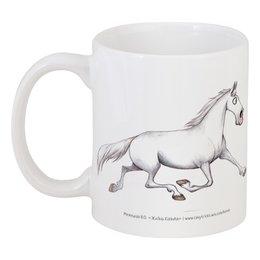 """Кружка """"TROTTING"""" - лошадь, horse, рысак"""