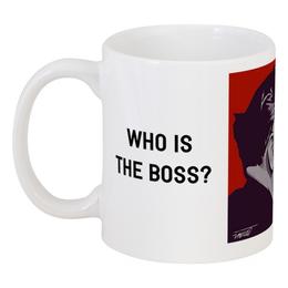 """Кружка """"Who is the Boss? Tito Josip Broz"""" - сербия, югославия, тито, иосип броз тито"""