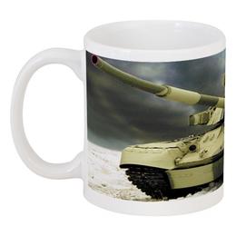 "Кружка ""Военный Танк"" - танк, tank, военному, танкист"
