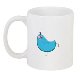 """Кружка """"cartoon bird"""" - птица, просто так, так просто"""
