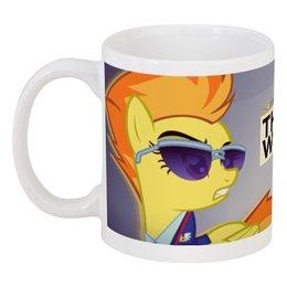 """Кружка """"Spitfire"""" - арт, pony, mlp, пони"""