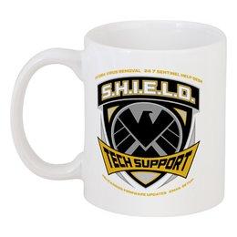 """Кружка """"Щ. И. Т."""" - комиксы, мстители, щит, shield"""