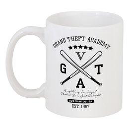 """Кружка """"GTA  """" - игры, grand theft auto, gta, гта, геймерские"""