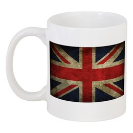 "Кружка ""Флаг Британии"" - юмор, fun, англия"