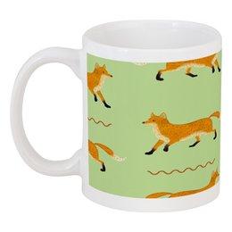 "Кружка ""Лисички"" - fox, лиса, лисички"