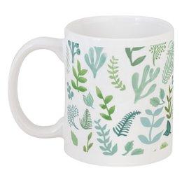 """Кружка """"Суккуленты"""" - цветы, сад, растения, суккуленты, succulent"""