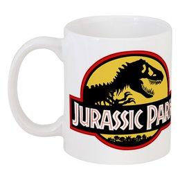 """Кружка """"Парк юрского периода"""" - динозавры, movie, парк юрского периода, jurassic park"""