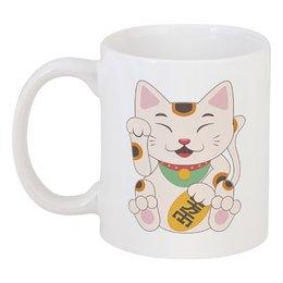 "Кружка ""Кошка"" - кот, кошка, рисунок, животное"