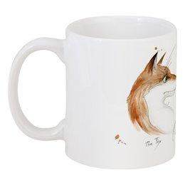 "Кружка ""Лисы Святого Валентина"" - любовь, love, лисы, пары, foxes"