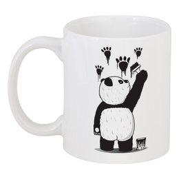 "Кружка ""Панда вандал"" - животные, панда, panda, wwf"