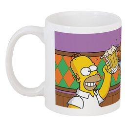 """Кружка """"Гомер"""" - арт, приколы, гомер, россия, симпсоны"""