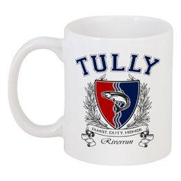 """Кружка """"Игра Престолов. Дом Талли"""" - игра престолов, game of thrones, дом талли, house tully, талли"""