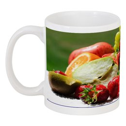 """Кружка """"delicious fruit"""" - country, home and makes a great gift"""