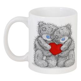 "Кружка ""Мишка Тедди"" - love, heart, день святого валентина, мишки"