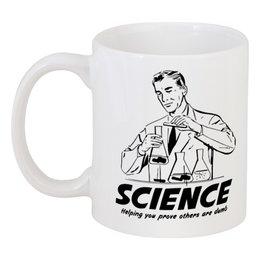 "Кружка ""Наука"" - geek, science, наука, научный, ученый"