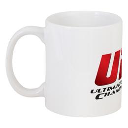 """Кружка """"UFC logo"""" - ufc, mma, миксфайт, смешанные единоборства, мма"""