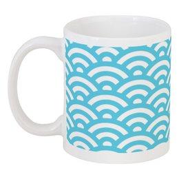 """Кружка """"Морская волна."""" - море, волна, абстракция, вода, океан"""