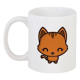 "Кружка ""Милый котёнок"" - кот, кошка, котик, животное, котёнок"