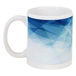 """Кружка """"Лед и кипяток"""" - зима, чашка, снег, абстракция, лед"""