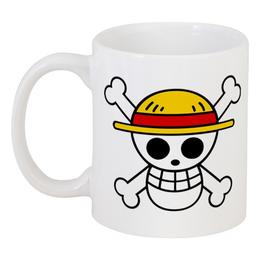 """Кружка """"One Piece"""" - one piece, ван пис, аниме, манга, луффи соломенная шляпа"""