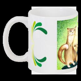 """Кружка """"Милые котики"""" - семья, кошки, коты, котики"""