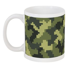 """Кружка """"Камуфляж"""" - 23 февраля, армия, камуфляж, военный, защитник отечества"""