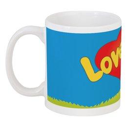 """Кружка """"любовь"""" - любовь, любовь это, love is"""
