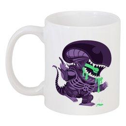 """Кружка """"Чужой (Alien)"""" - alien, чужой"""