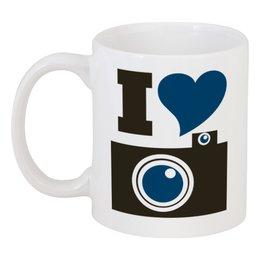 """Кружка """"Я люблю фоткать"""" - фото, foto, фотограф, селфи"""