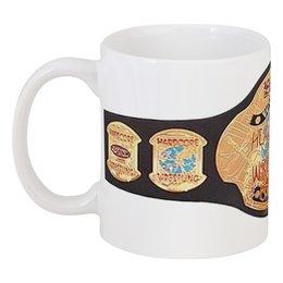 """Кружка """"Логотип ECW"""" - ecw, wrestling, реслинг"""