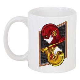 """Кружка """"Флэш."""" - молния, флэш, the flash"""