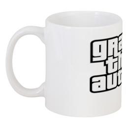"Кружка ""Grand Theft Auto V"" - grand theft auto, gta, гта, gta 5, grand theft auto online"