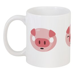 """Кружка """"Свинья"""" - свин, поросёнок, 2019, новый год, год свиньи"""