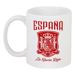 """Кружка """"Сборная Испании"""" - футбол, испания, сборная испании, сборная испании по футболу, команда испании"""