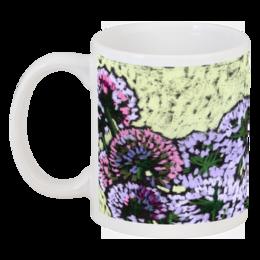 """Кружка """"Луковая кружка."""" - цветы, оригинально, природа, пастель, кира, лук"""