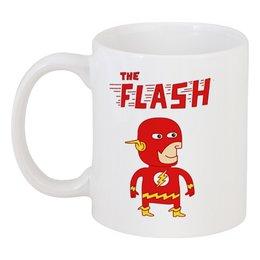 """Кружка """"Флэш """" - flash, прикольные, комиксы, супергерои, флэш"""