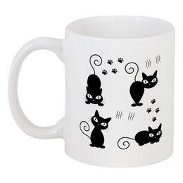 """Кружка """"Котята"""" - кот, кошка, животное, котята"""