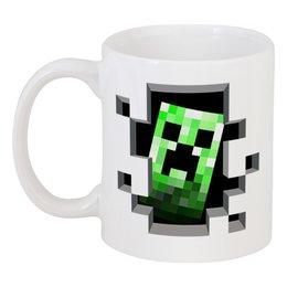 "Кружка ""Крипер. Майнкрафт"" - игры, minecraft, майнкрафт, крипер, геймерские"